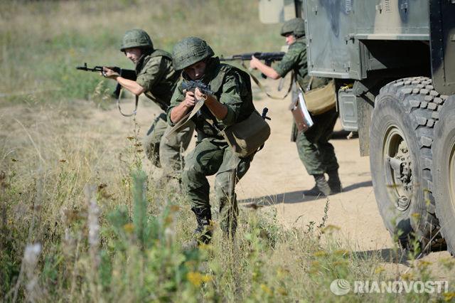Военнослужащие ЦВО. Архивное фото
