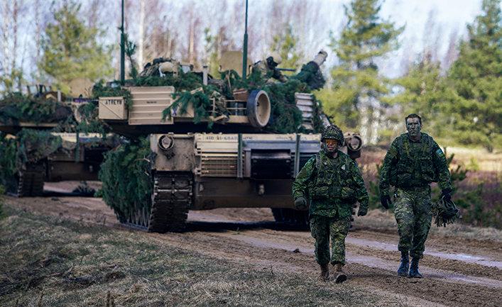 """Военнослужащие Канады на международных военных учениях """"Summer Shield XIV"""" в Латвии."""