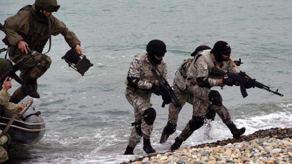 Военнослужащие морской пехоты