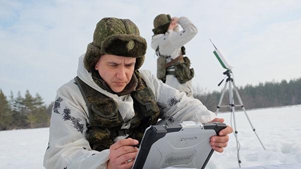 """Военнослужащие на полигоне """"Поливна"""""""