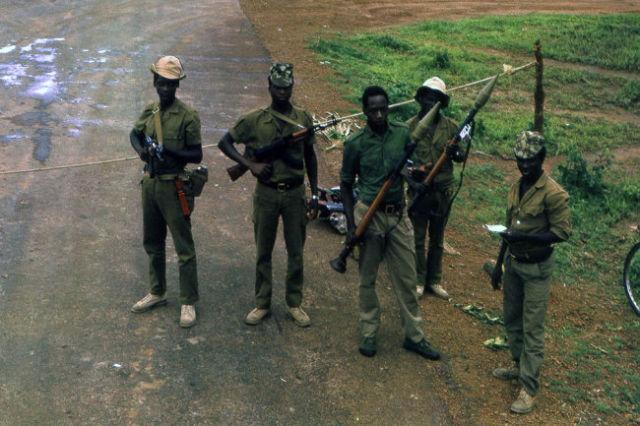 Военнослужащие Народных сил обороны Танзании