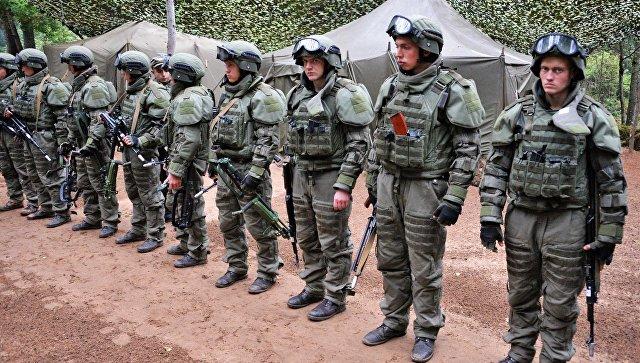 Военнослужащие России и Белоруссии на учениях. Архивное фото.