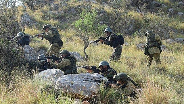 Военнослужащие России и Пакистана на учениях Дружба. Архивное фото.