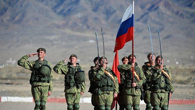 Военнослужащие российской армии. Архивное фото.