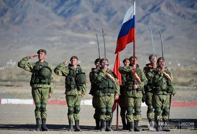 Военнослужащие российской армии в Киргизии. Архивное фото