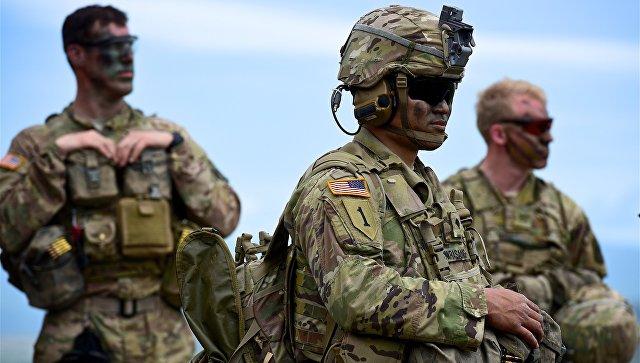 Военнослужащие США. Архивное фото.
