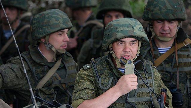 Военнослужащие во время учений войск Центрального военного округа. Архивное фото.
