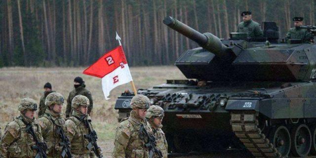 Военнослужащие Войска Польского