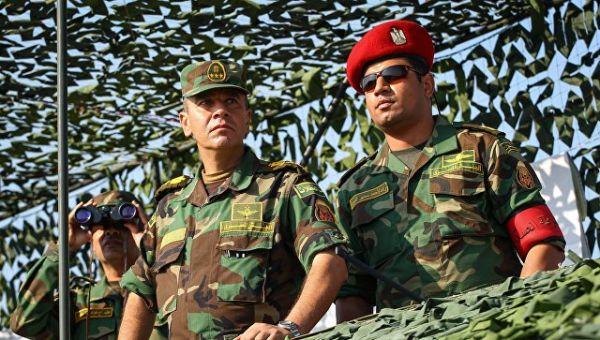 Военнослужащие вооруженных сил Египта