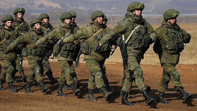 Военнослужащие Вооруженных сил России. Архивное фото.