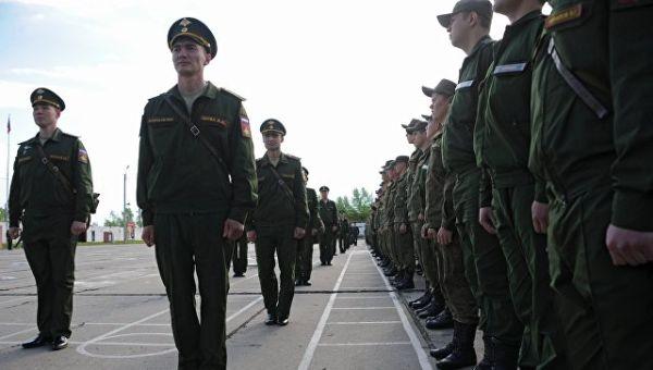 Военнослужащие Восточного военного округа