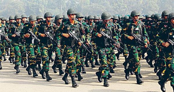 Военнослужащие ВС Бангладеш