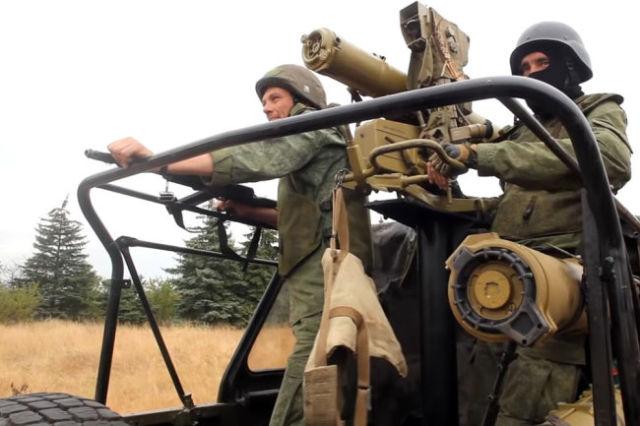 Военнослужащие ВС ДНР