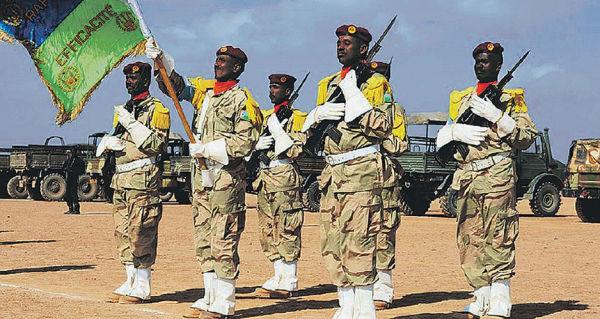 Военнослужащие ВС Джибути