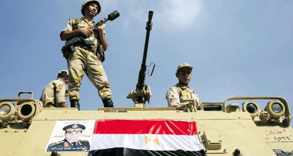 Военнослужащие ВС Египта