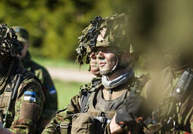 Военнослужащие ВС Эстонии
