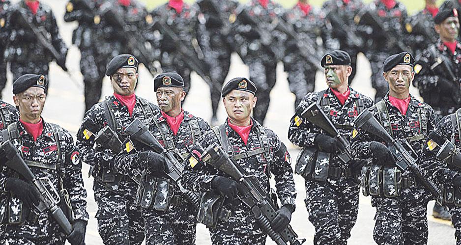 Военнослужащие ВС Филиппин.