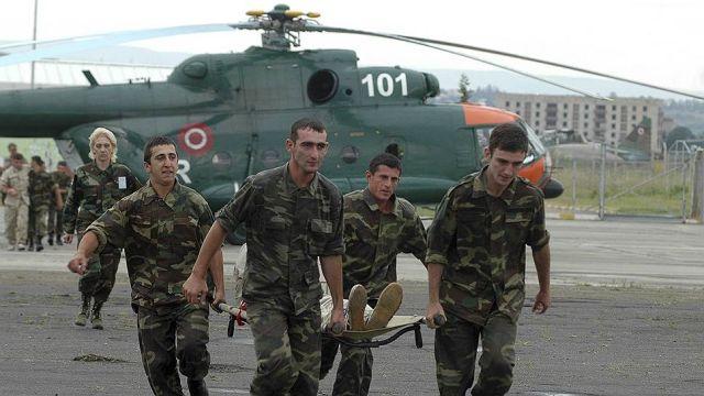 Военнослужащие ВС Грузии