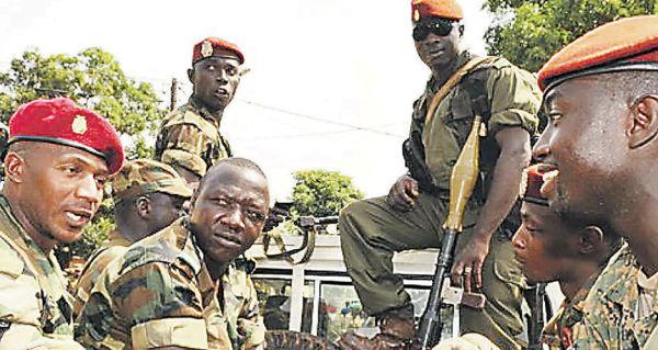 Военнослужащие ВС Гвинеи