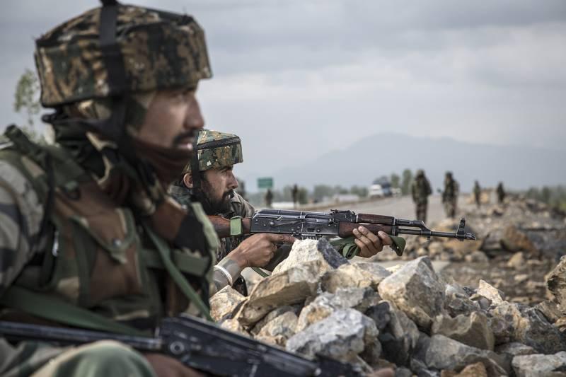 Военнослужащие ВС Индии.