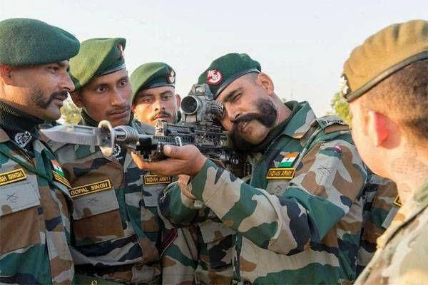 Военнослужащие ВС Индии