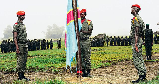 Военнослужащие ВС Конго