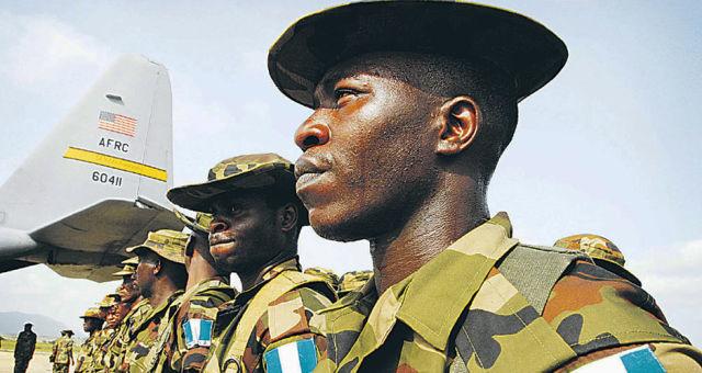 Военнослужащие ВС Нигерии