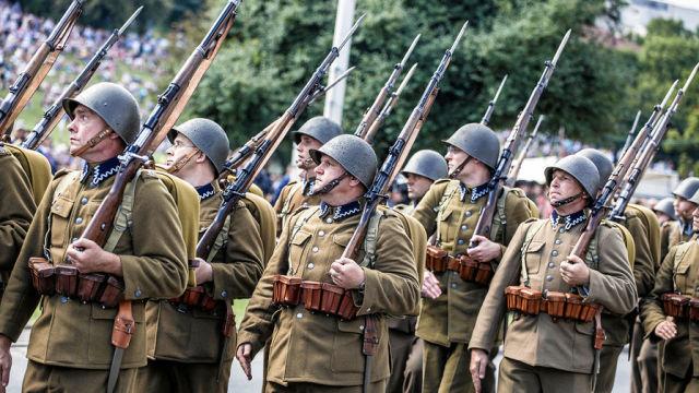 Военнослужащие ВС Польши