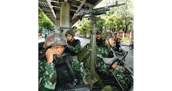 Военнослужащие ВС Таиланда