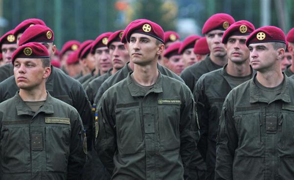 Военнослужащие ВС Украины