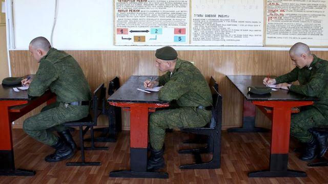 Военнослужащие-курсанты