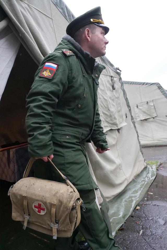 Военнослужащий-медик ВС РФ