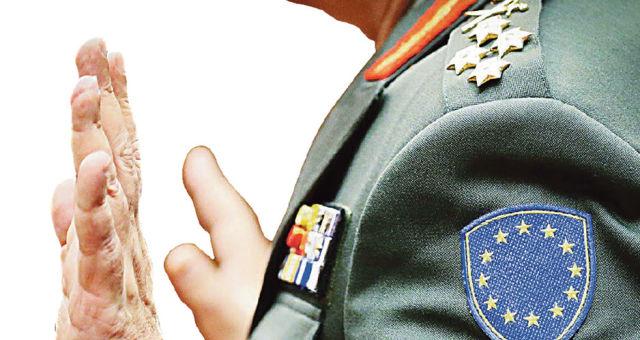 Военнослужащий миссии ЕС