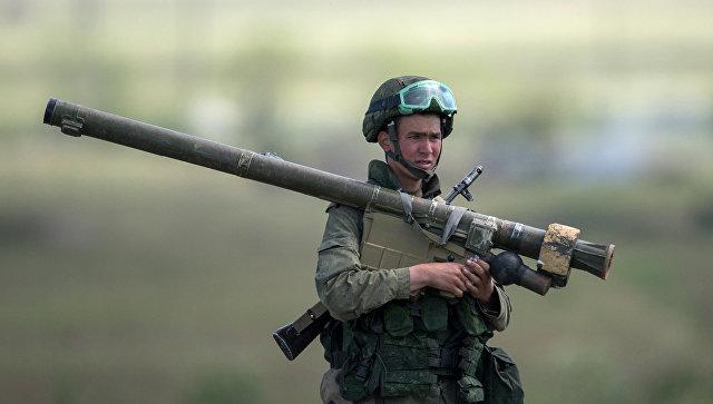 Военнослужащий в Армении. Архивное фото.