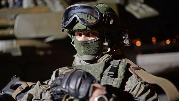 Военнослужащий в экипировке Ратник. Архивное фото
