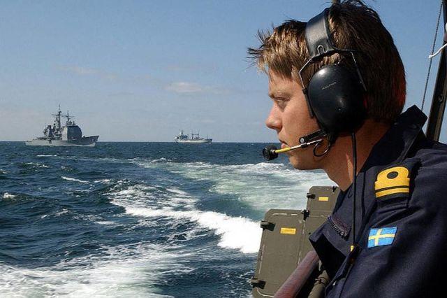 Военнослужащий ВМС Швеции