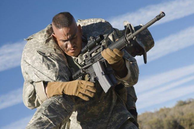 Военнослужащий ВС США.