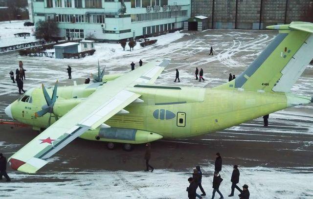 Военно-транспортный самолет Ил-112В