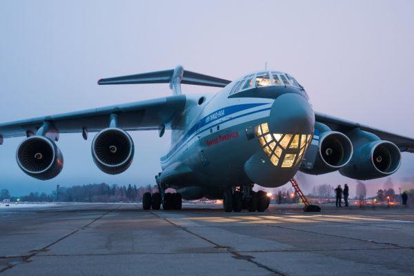 Военно-транспортный самолет Ил-76МД-90А