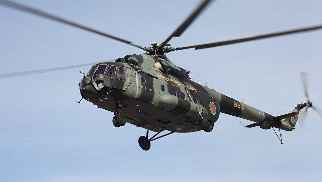 Военно-транспортный вертолет Ми-171Ш. Архивное фото.