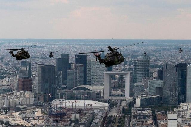 Военные вертолёты NH90, Tiger и Gazelle Германии и Франции