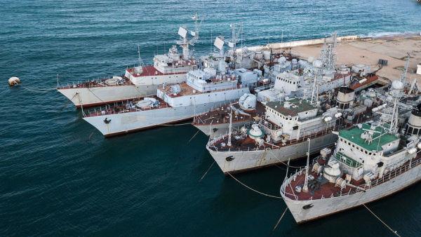 Военные корабли ВМС Украины