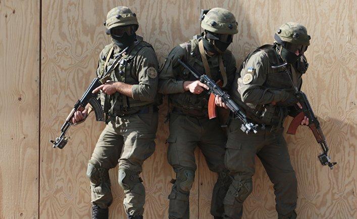 Военные учения Rapid Trident-2017 в Львовской области.