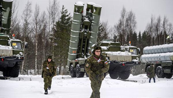 Военные учения с применением ЗРС С-400 в Ленинградской области. Архивное фото