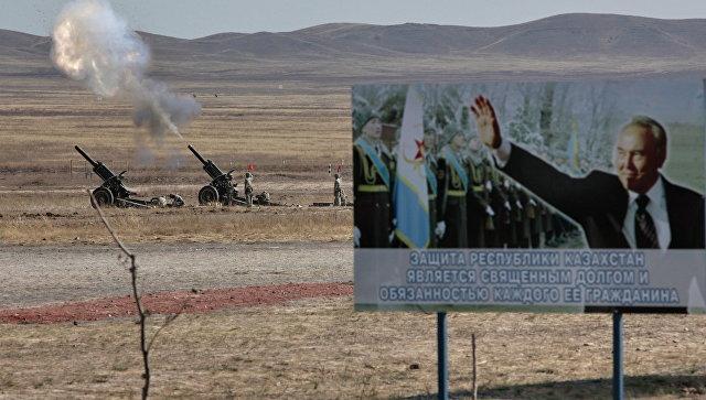 Военные учения ШОС. Архивное фото.