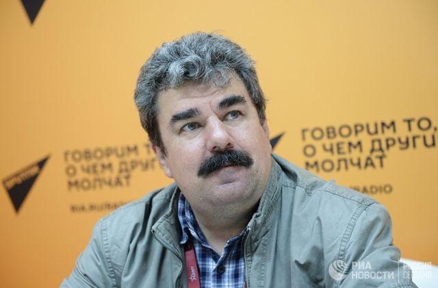 Военный эксперт Алексей Леонков
