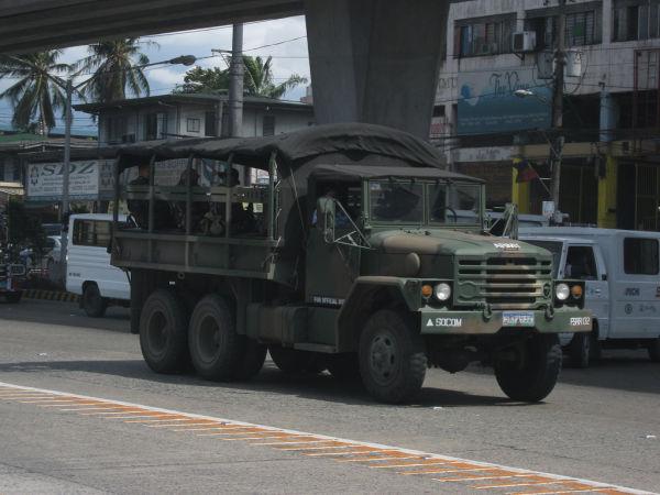 Военный грузовой автомобиль KIA KM250