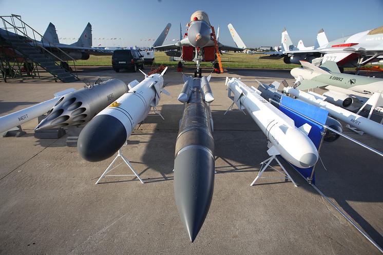 Вооружение МиГ-29.