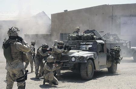 Восстание в Эль-Фаллужде показало, сколь эфемерна победа американцев. Фото с сайта www.army.mil