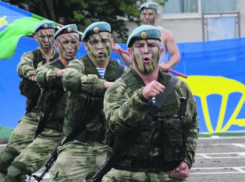 Воздушно-десантные войска продолжат совершенствоваться. Фото РИА Новости
